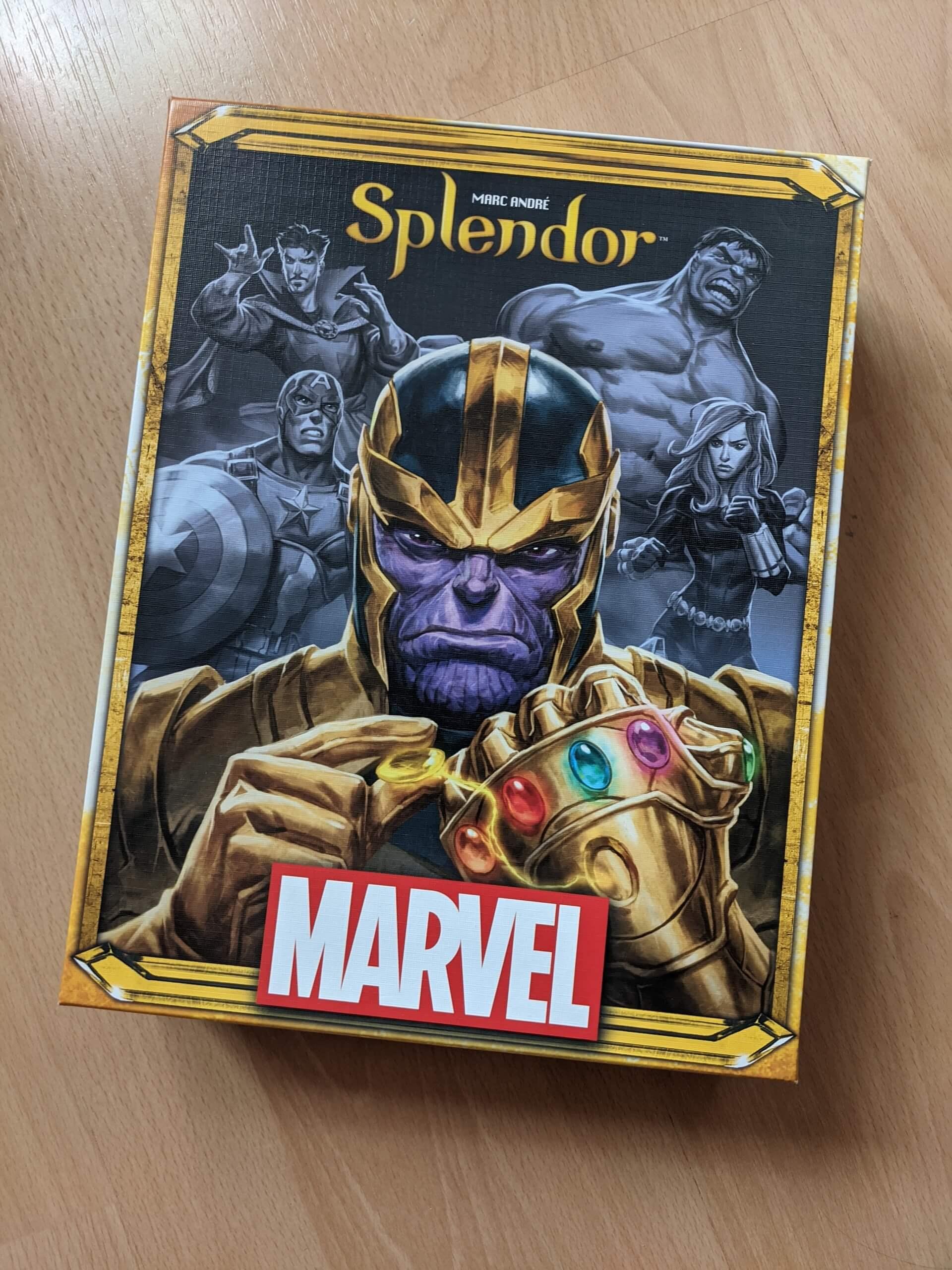 Splendor Marvel Review Cover
