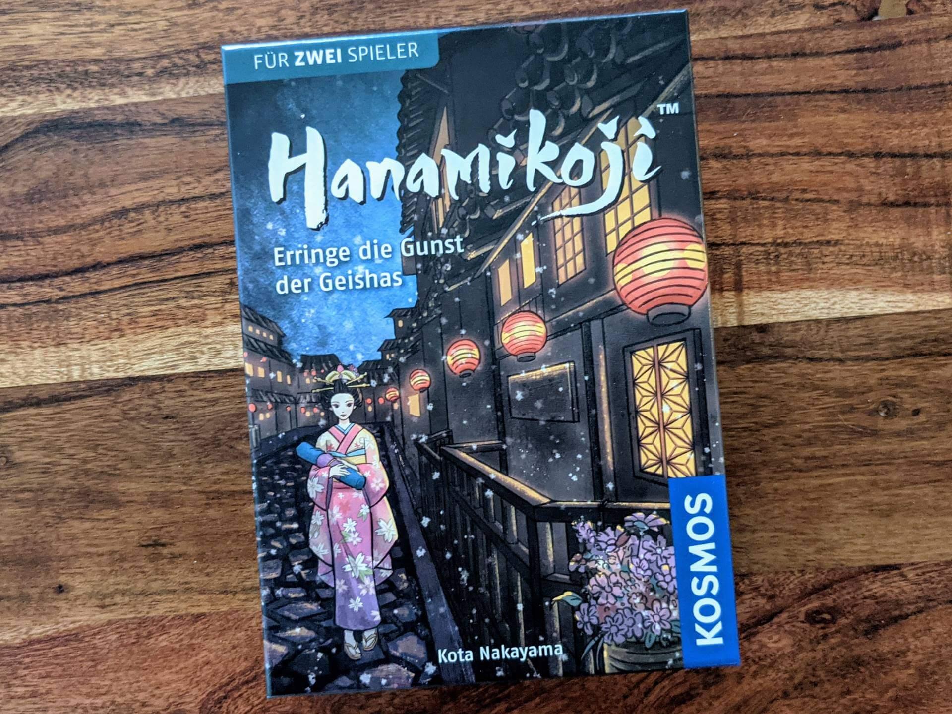 Hanamikoji Review Cover