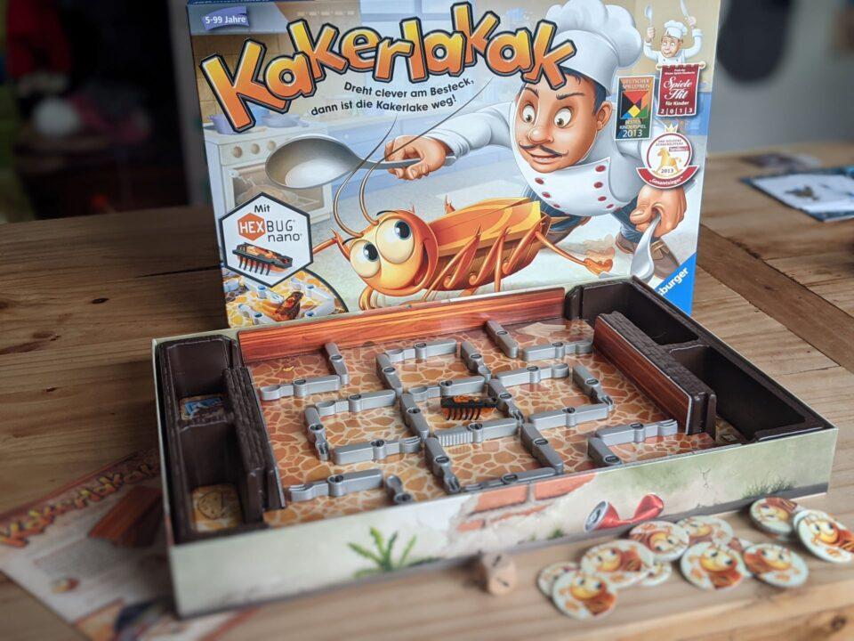 Kakerlakak Review Kinderspiel