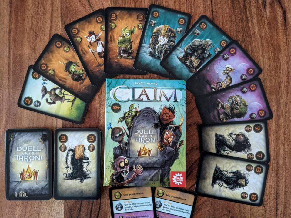 Claim Review Kartenspiel 2 Personen Spiel