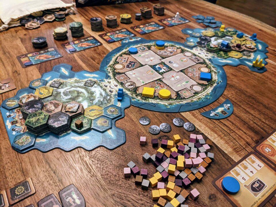 Cooper Island Review Spielplan