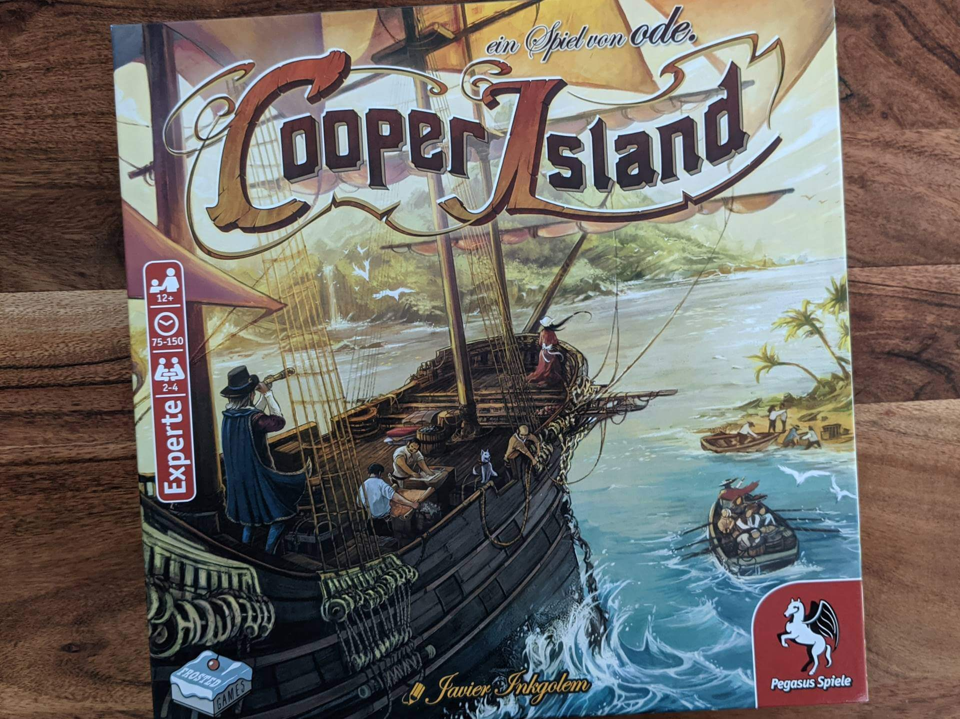 Cooper Island Review Cover