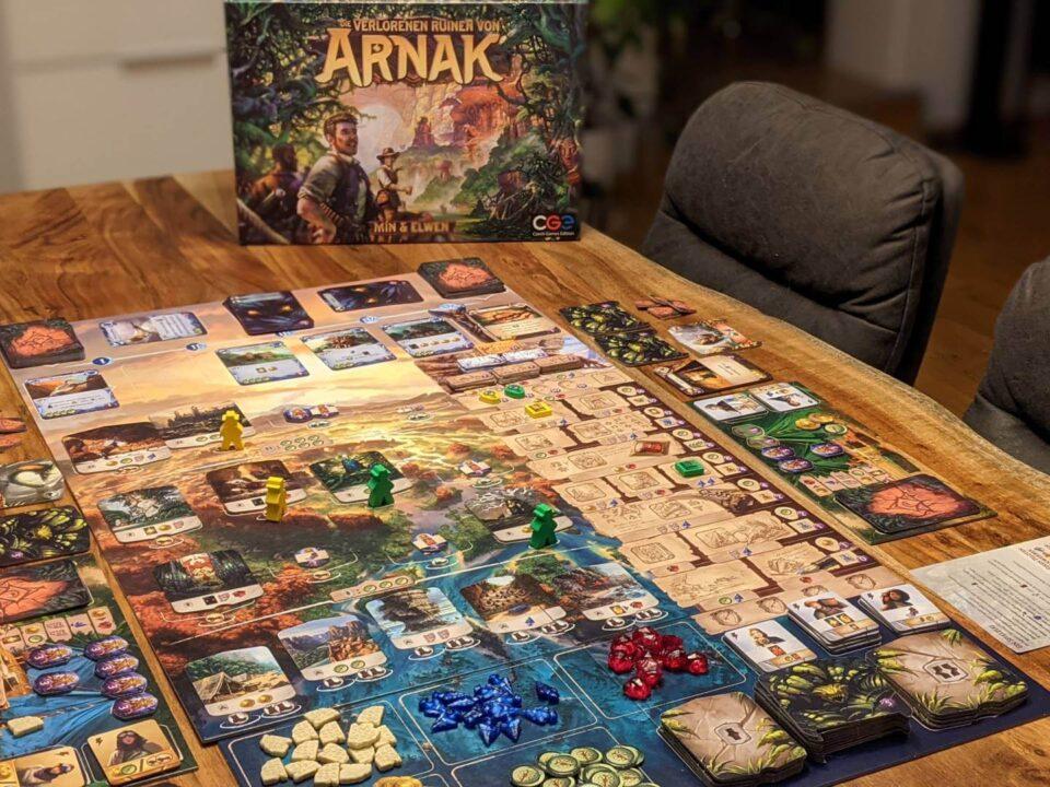 Die verlorenen Ruinen von Arnak Review Übersicht