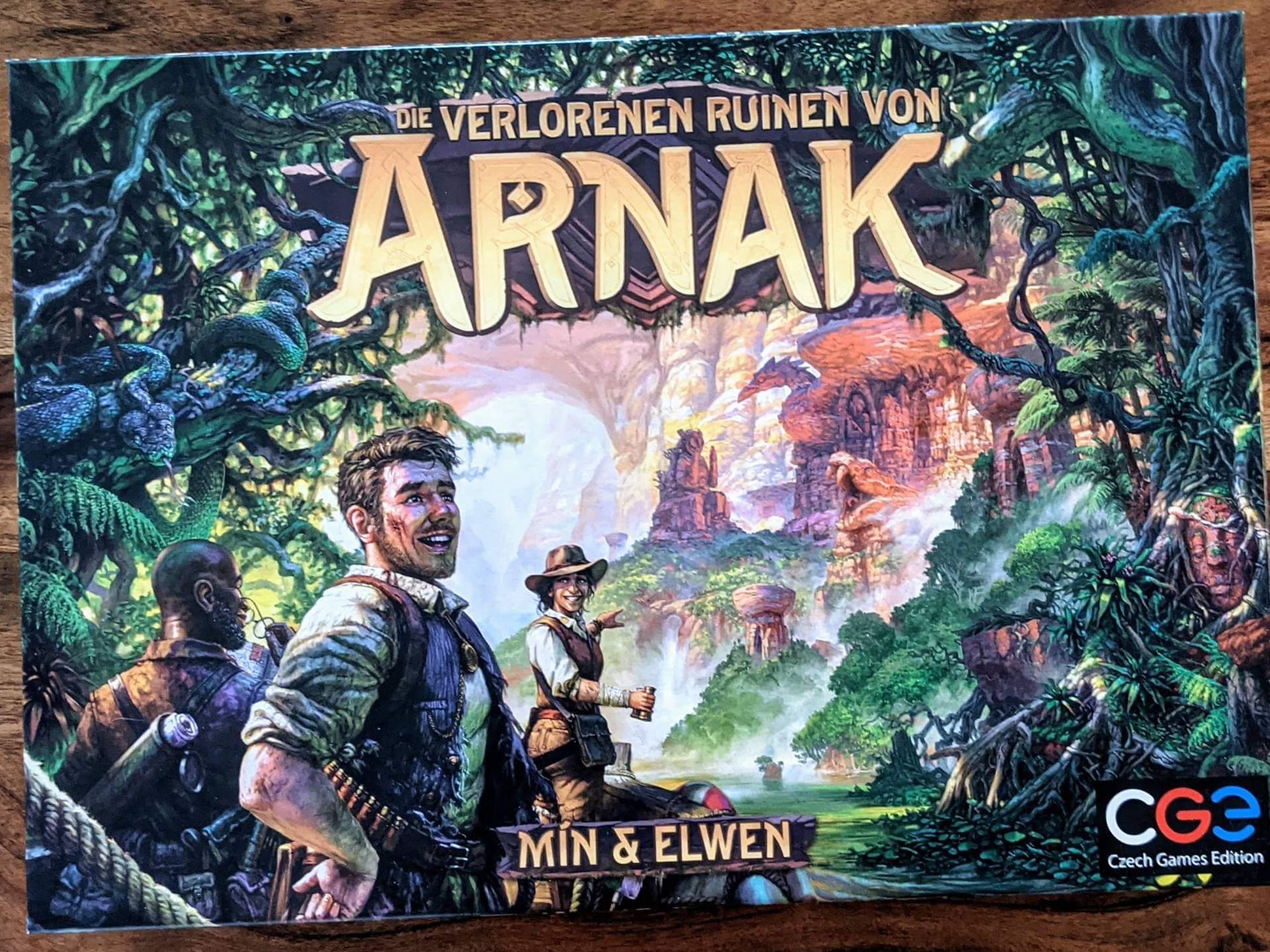 Die verlorenen Ruinen von Arnak Review Cover