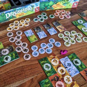 Dragomino Review Spielaufbau