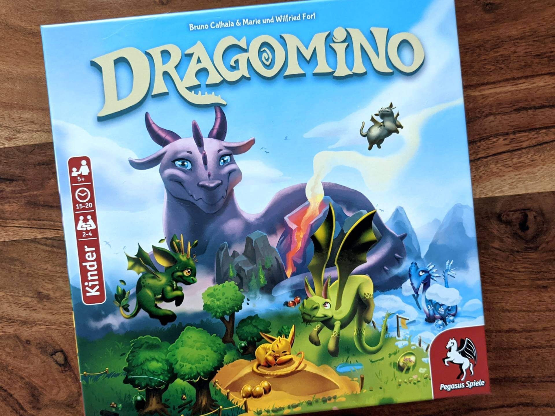 Dragomino Kinderspiel des Jahres 2021