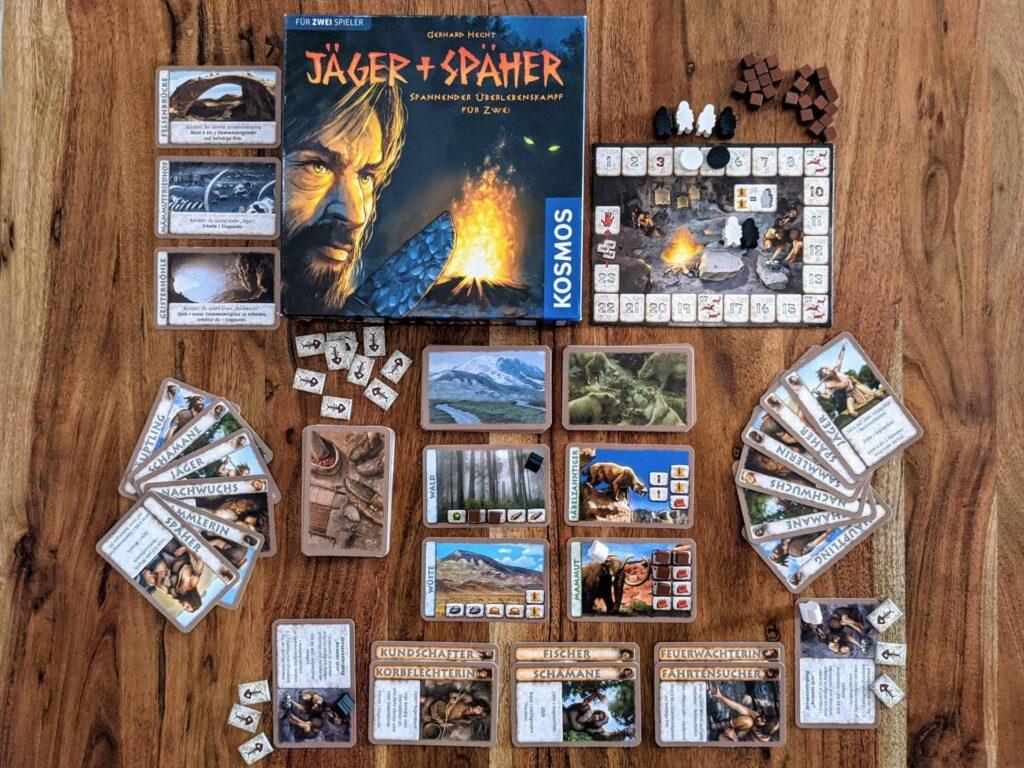 Jäger und Späher Review 2 Personen Spiel