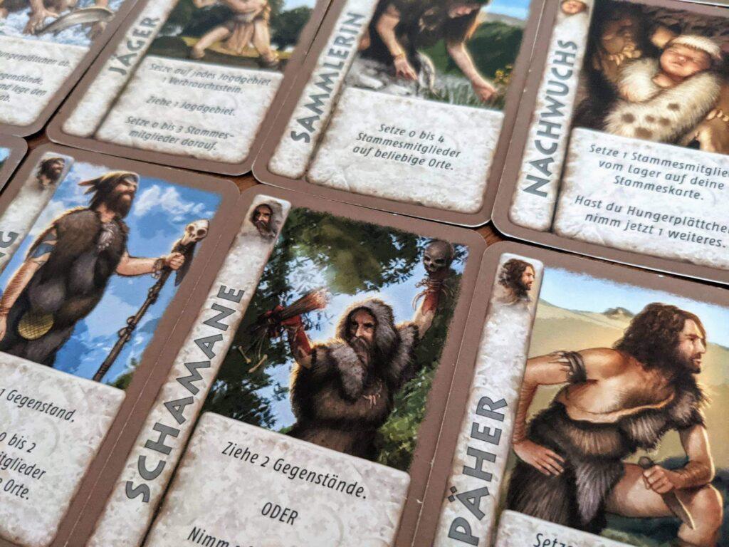 Jäger und Späher Review Karten