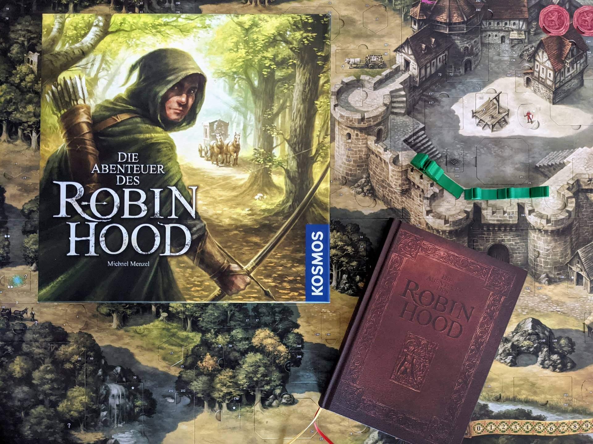 Die Abenteuer des Robin Hood Review Familienspiel