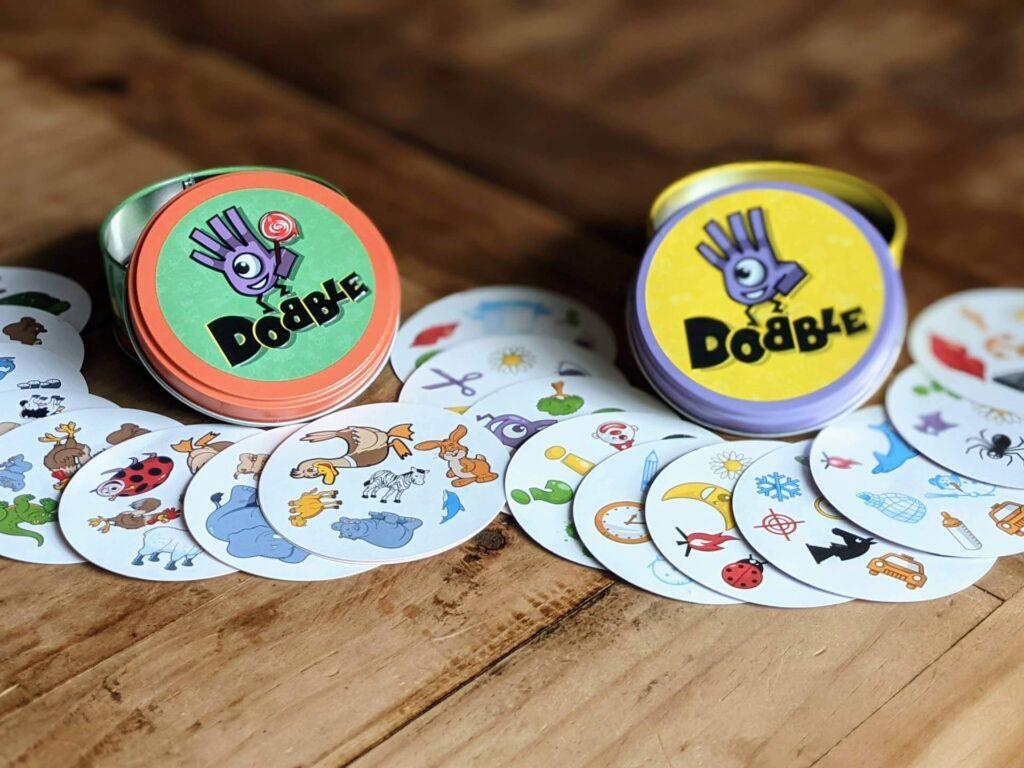 Dobble Review Kinderspiel Partyspiel