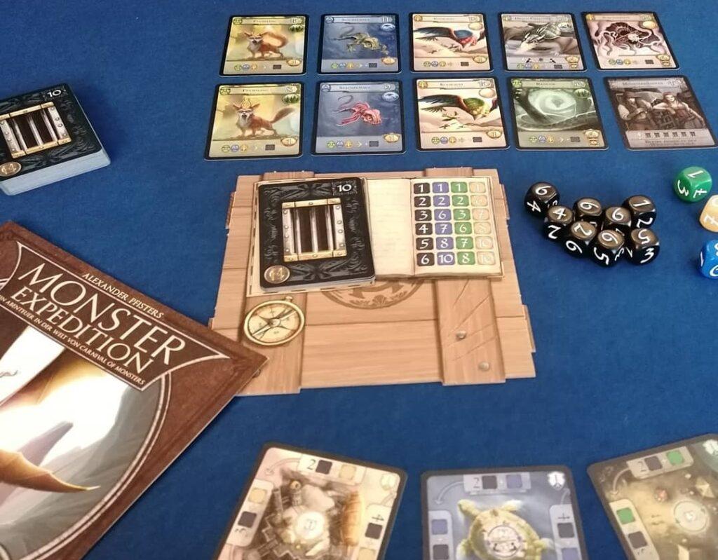 Spiele für 1 Person - Monster Expedition Solomodus