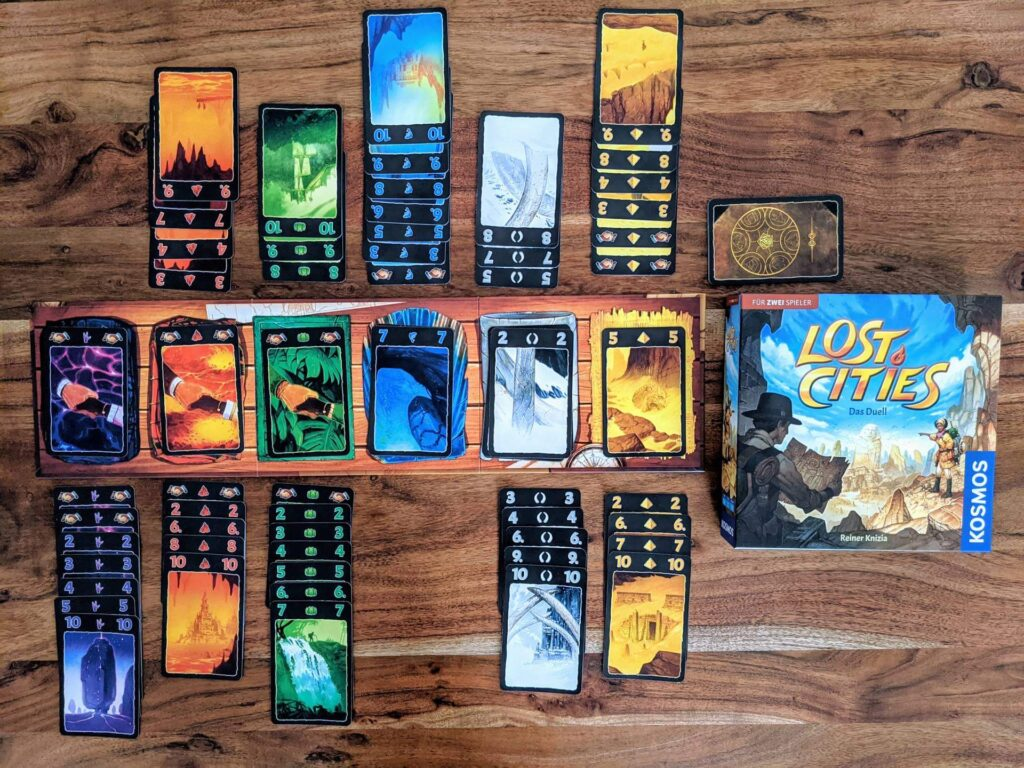 Lost Cities Das Duell Review