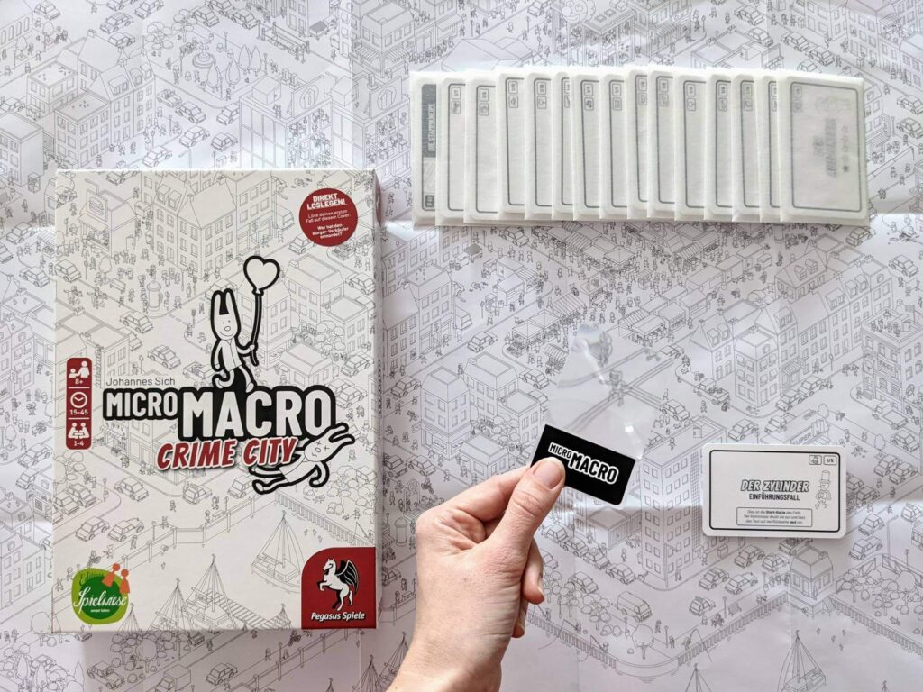 MicroMacro Crime City - nominiert zum Spiel des Jahres 2021