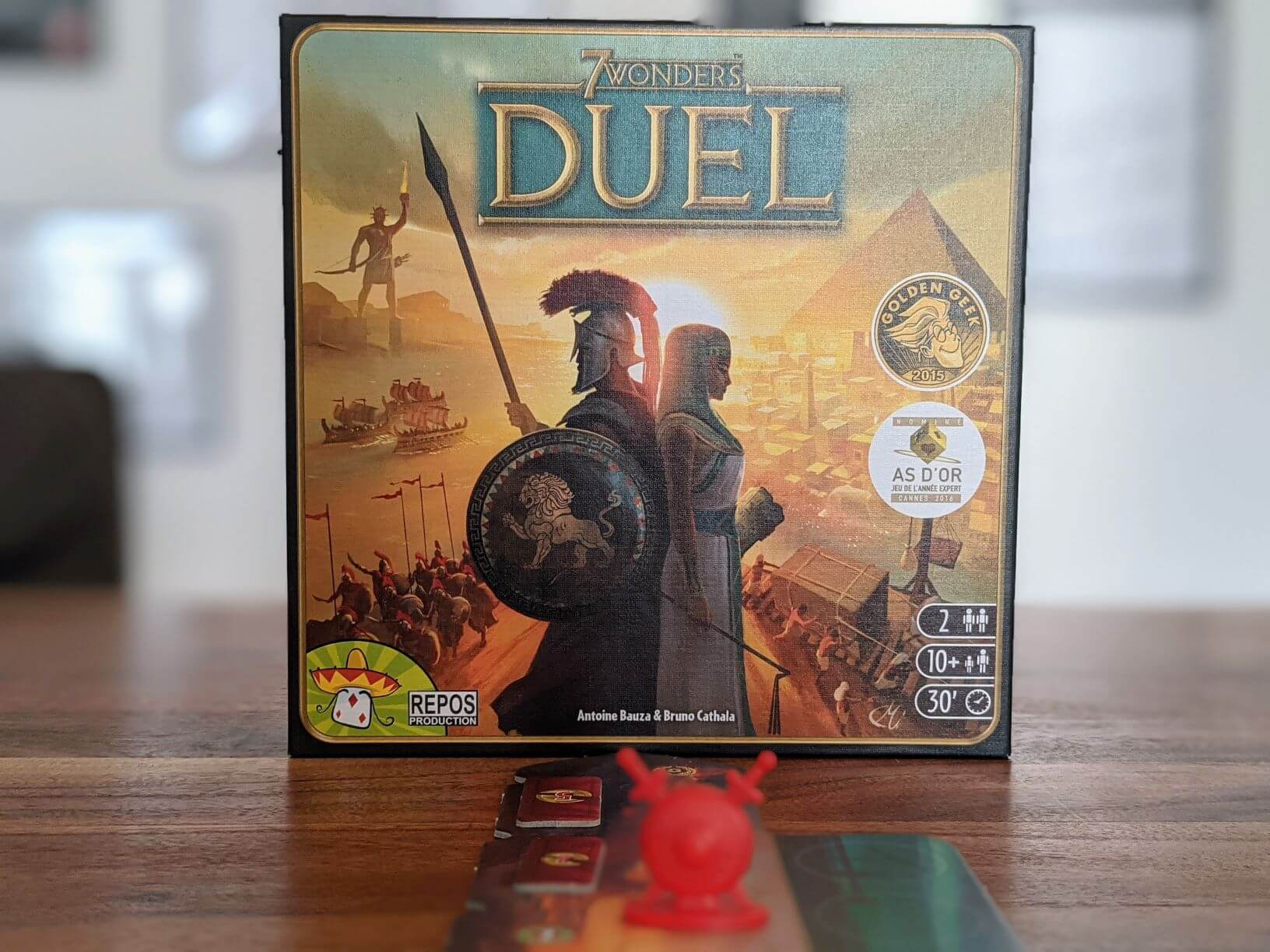 Reisespiel 7 Wonders Duel
