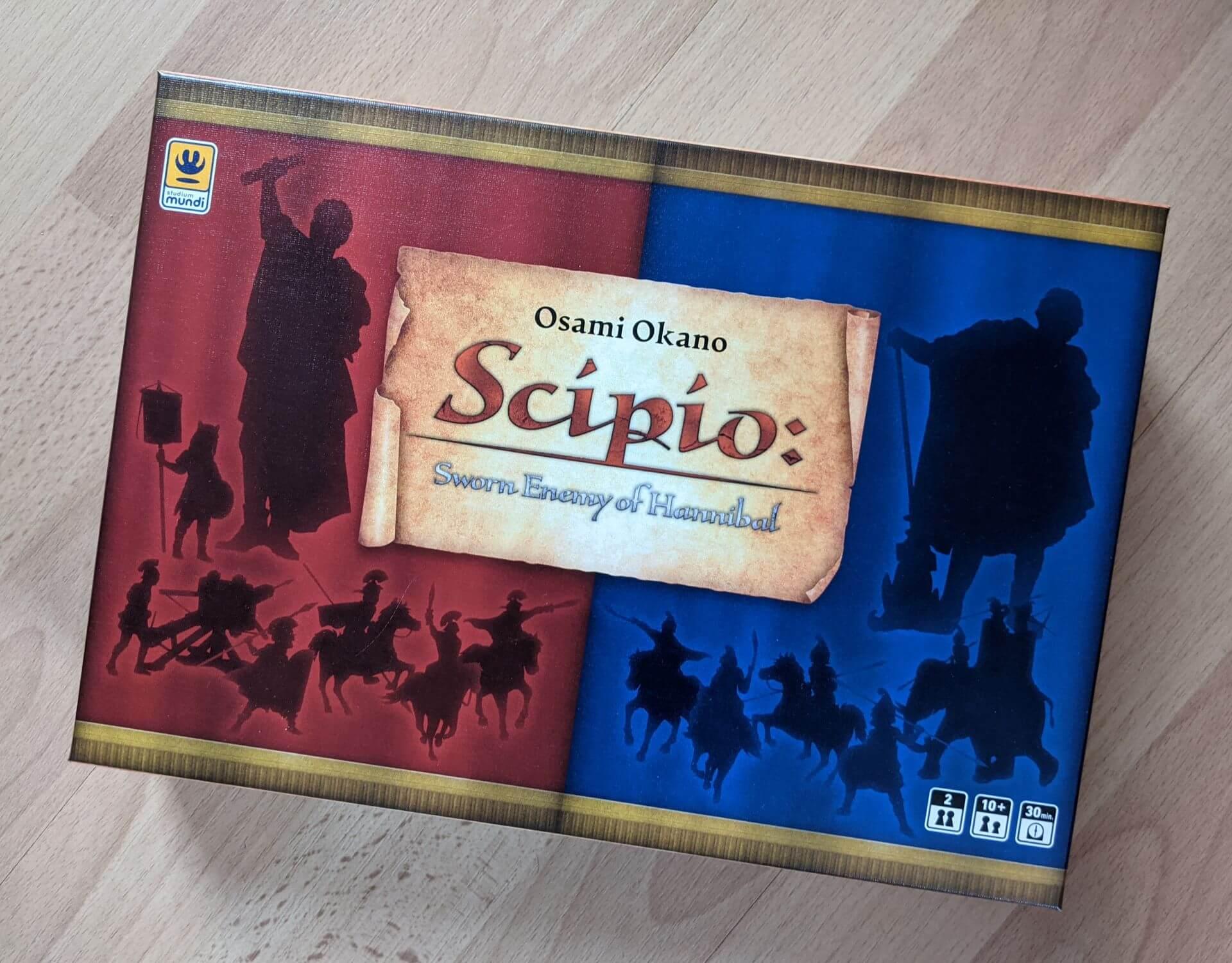 Scipio Sworn Enemy of Hannibal Review