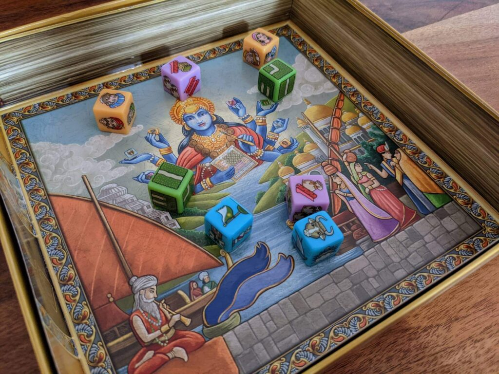 Rajas of the Ganges The Dice Charmers Review Würfelspiel