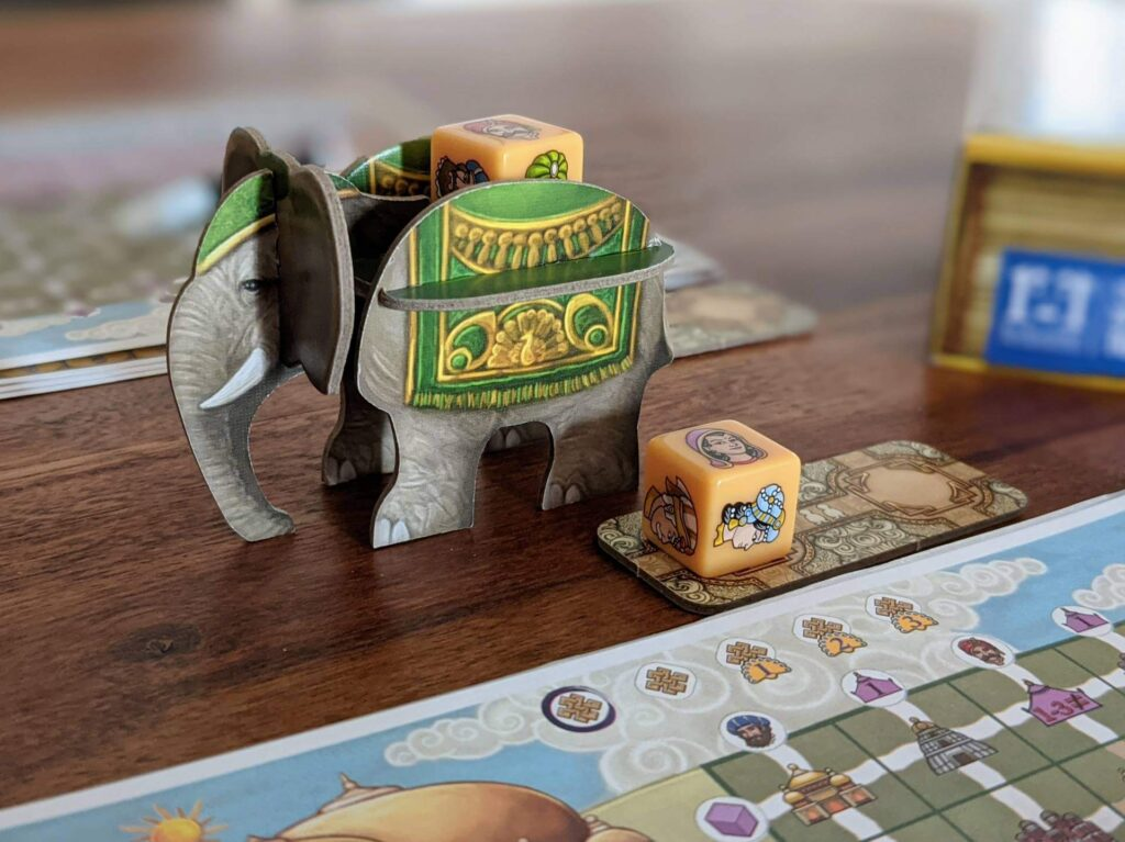 Rajas of the Ganges The Dice Charmers Elefant