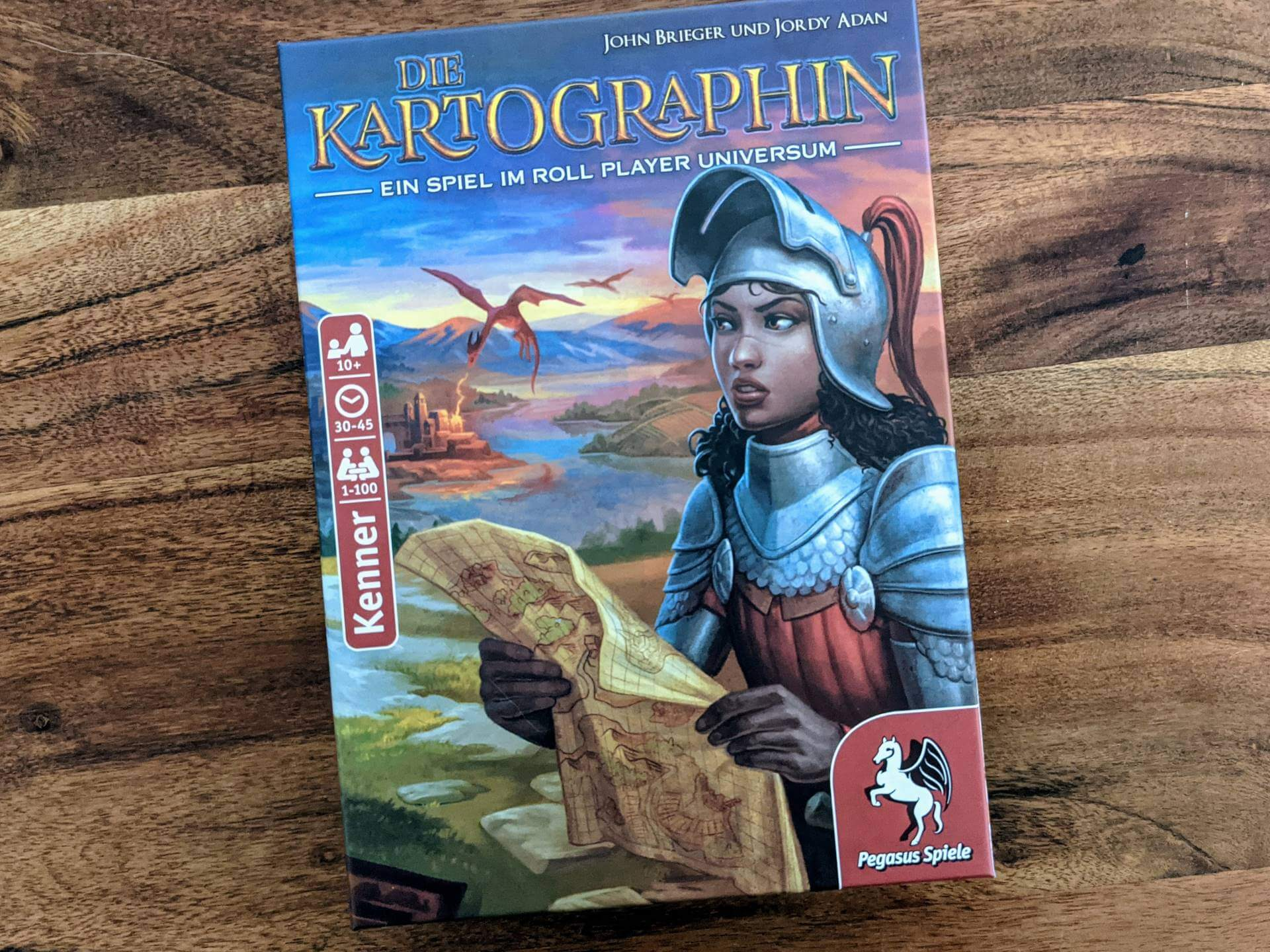 Die Kartographin Review