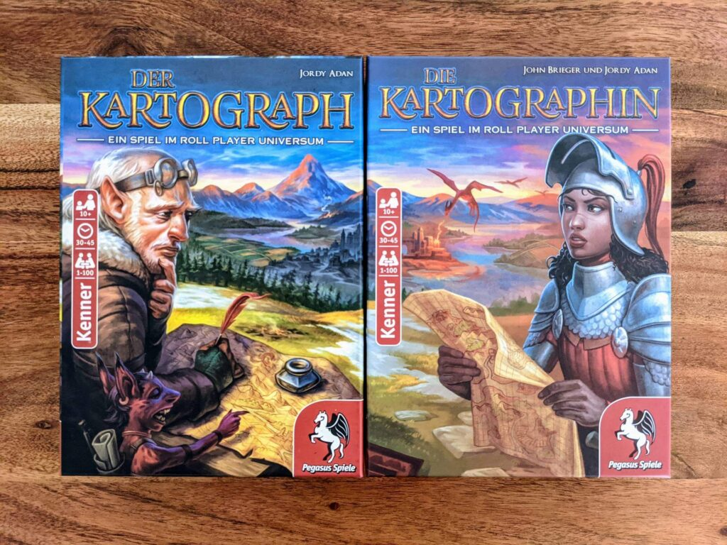 Die Kartographin Review Artwork