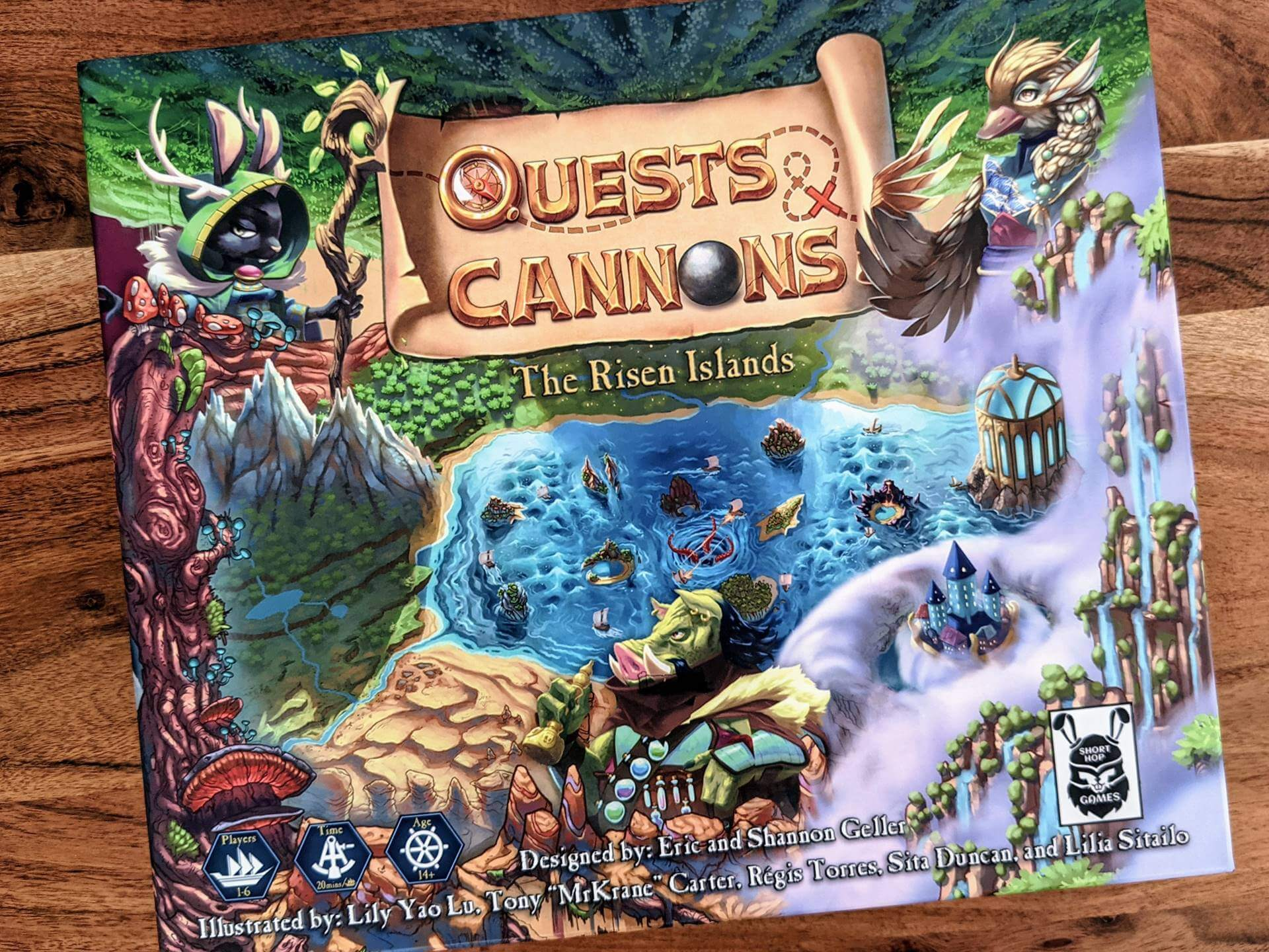 Quests & Cannons Kickstarter Review
